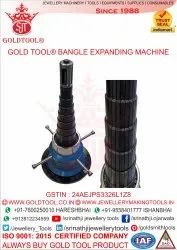 Gold Tool Revolving Bangle Expanding Machine