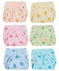 Cotton Hosiery Padded Nappies