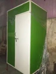 FRP Toilet Cabin with Solar System