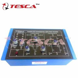 Power and Differential Amplifier Trainer