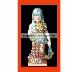 Marble Standing Banithani Statue