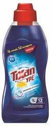 Blue Biodegradable TIXAN Laundry Liquid Detergent, Packaging Type: Plastic Bottle, Packaging Size: 1 Liter