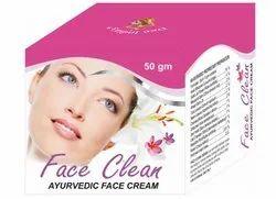 Face Clean Ayurvedic Cream, 50 Gram