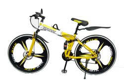 Yellow Bmw X6 Foldable Cycle