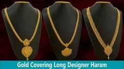 Women Copper Covering Gold Chain