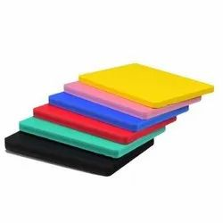 Colour PVC Board, Thickness: 18 mm, Size: 8' X 4'