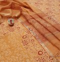 Exclusive New Latest Hand Block Printed Cotton Dress Material With Kota Doria Dupatta.