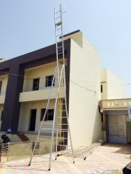 Aluminum Self Supporting Extension Ladders