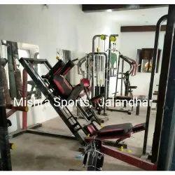 Mild Steel Leg Press Hack Squat