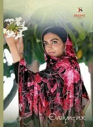 Deepsy Evelyn Nx Pashmina Silk With Embroidery Premium Winter Suits Catalog