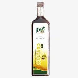 Jiyo Raw Cold Pressed Black Mustard Oil, Packaging Type: Plastic Bottle, Packaging Size: 1 Litre