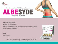 ALBESYDE Injection Thiocolchicoside 4mg/2ml