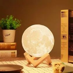 PVC Mix Moon Lamp