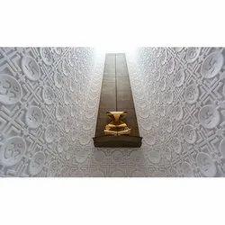 Odyssey Mandala Om Design Vietnam White marble carving