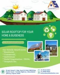 Ground Mounted Solar System Installation Services, For Industrial