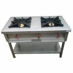 2 LPG and PNG Two Burner Range, For Restaurant