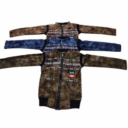Kid Cotton Printed Jacket