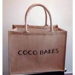 Promotional Jute Bag, Capacity: 5kg
