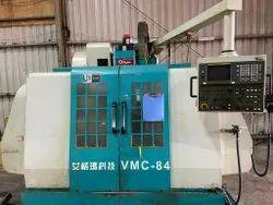 MAKE-AGMA VMC-84 VERTICAL MACHINE CENTER WORKING SIZE 800x400x500 FANUC 18 M CONTROL