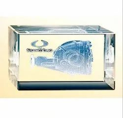 BL 720 Crystal Table Top Trophy