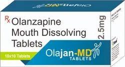 OLANZAPINE 2.5 MG MD TABLETS (OLAJAN 2.5)