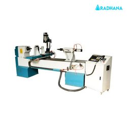 4 Axis Wood Lathe Machine