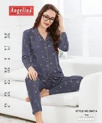 Full Sleeves Night Suit