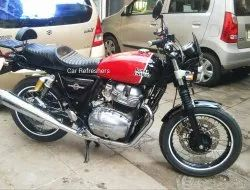 Royal Enfield Interceptor 650 Twin Detailing With Engine Case Buffing, Packaging Size: Doorstep Coming Soon