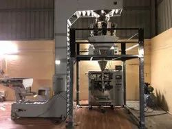 Multihead Pouch Packing Machine With Bucket Elevator