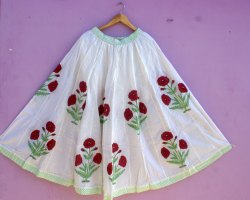 Handmade Cotton Jaipuri Skirts