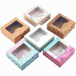Window Cupcake Boxes