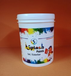 White Interior Exterior Primer Plastic Paint Buckets