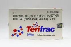 Terifrac 750mcg Injection