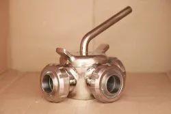 SS Dairy Plug valves