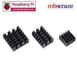 Raspberry Pi 3 in 1 Heat Sink Aluminium