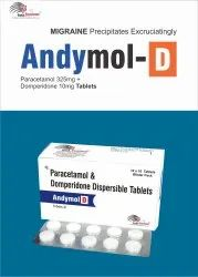 Andymol D Tablet Paracetamol 325 Mg Domperidone 10mg