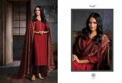 Regular Unstitched Ganga Suits