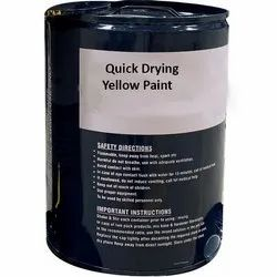 Quick Drying Yellow Paint