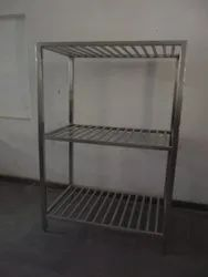 S.S Pot Rack (3 Tier)