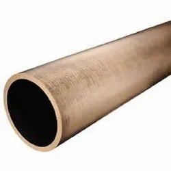 Round Mill Finished Silicone Bronze Pipe, Thickness: 6 Mm