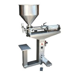 Paste Filling Machine Single Needle 100-1000 Ml With Stand