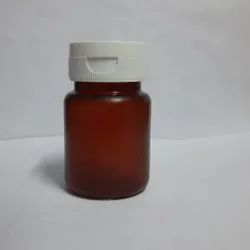 60 Tablet Amber FTC Cap PP Container