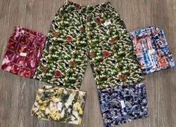 Multicolor Girl & Boy Kids Hosiery Shorts