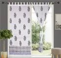 Hand Block Printed Curtains