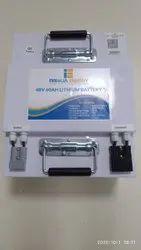 Innolia E Rickshaw Lithium Phosphate Battery, Capacity: 48 V 100 Ah