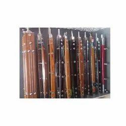 Stainless Steel Wooden Pillar, For Railing, Material Grade: 202 304 316