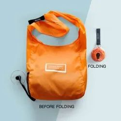 Disc Type Portable Shopping Bag