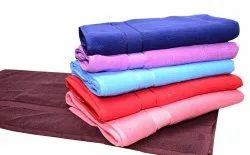 Plain Luxury Cotton Towel, Size: 76x152 Inch