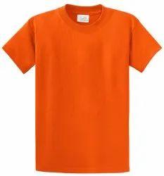 Plain V-Neck Men''S Cotton T-Shirt, Size: Large