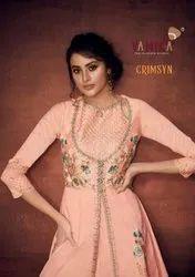 Arihant Vamika Crimsyn Readymade Salwar Suits Catalog